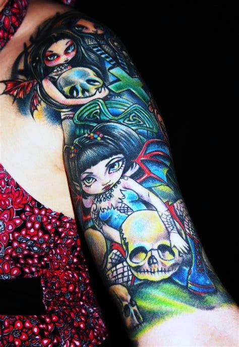 Award Winning Tattoos By Steve O Something Wicked Tattoo Award Winning Tattoos Gallery