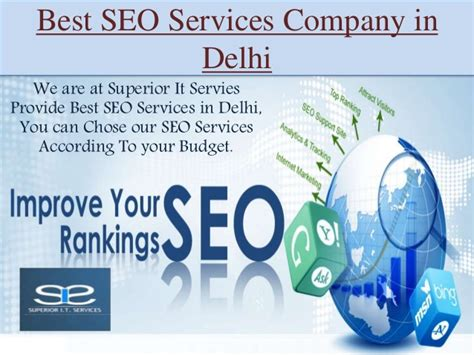 Best Seo Services by Best Seo Services Company In Delhi