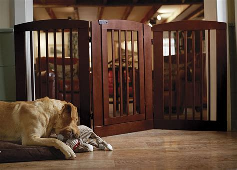 dog gates for house dog gate for the house three panel dog gate with door orvis