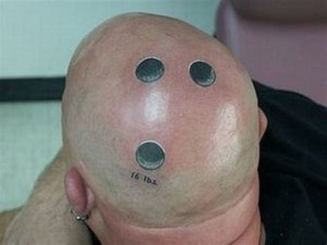 bald head tattoo bald is beautiful with these 15 scalp tattoos monkey see