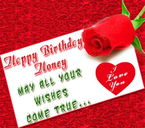 Happy Birthday Honey Wishes 52 Best Images About Birthday Wishes On Pinterest Happy