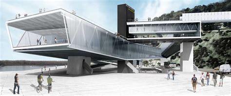 Housing Designs beton hala waterfront belgrade architecture competition