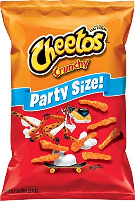 fruit o lay frito lay cheetos cheese snacks size crunchy 17 5