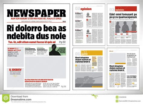 Newspaper Layout Design Download | t 233 cnicas de comunicaci 243 n gr 225 fica digital ii 2016 blog
