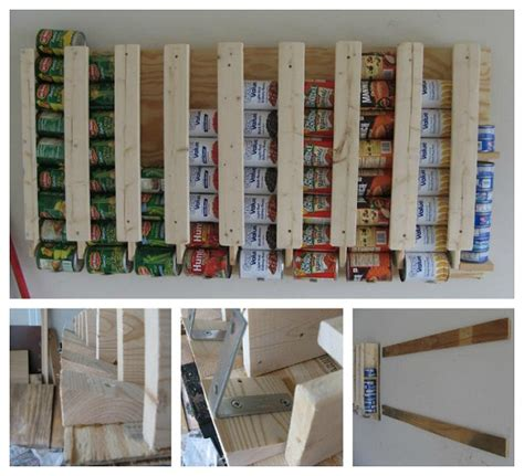 kitchen food storage ideas diy canned food storage smiuchin