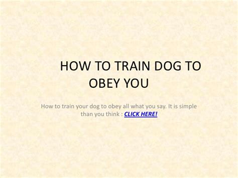 how to your to obey how to to obey you