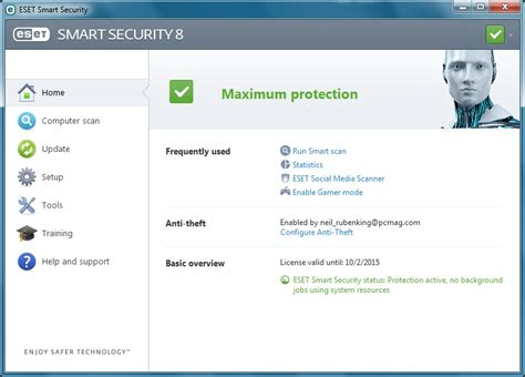 Software Antivirus Eset Nod32 Smart Security 10 3 Pc 2 Tahun Terlaris eset smart security 8 free