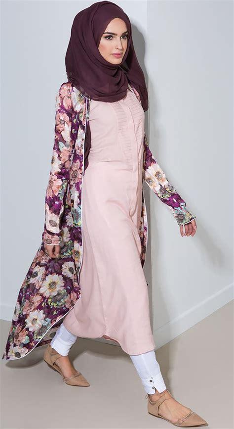 Cardigan Panjang Muslim Macam Macam Model Baju Muslim Terbaru Bergaya Casual