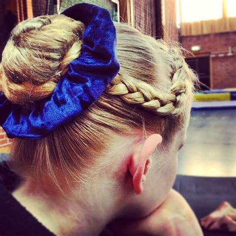 gymnastics updos i m a really big fan of this look hair pinterest