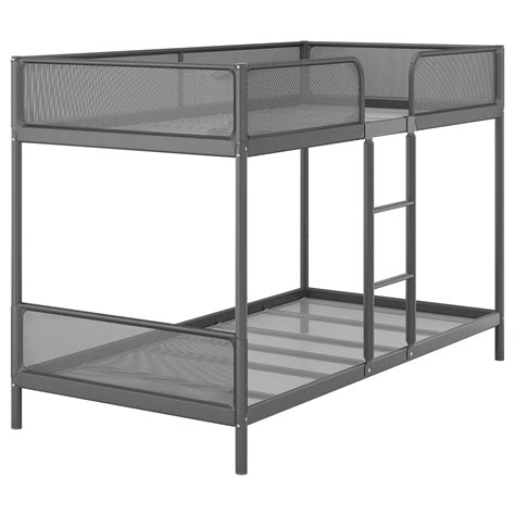 ikea loft bed frame tuffing bunk bed frame dark grey 90x200 cm ikea