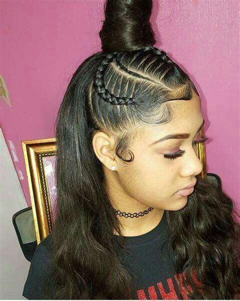 cute styles for full head weaves 25 best ideas about half cornrows on pinterest braids