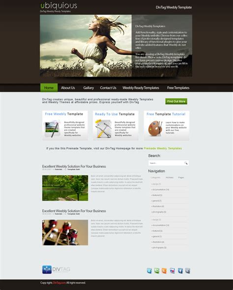 weebly templates free weebly theme gallary orchid premium weebly website design