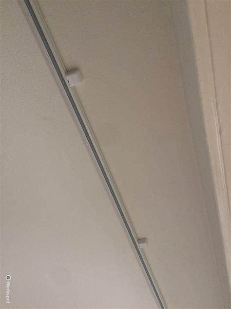 gordijnrails van 6 meter monteren gordijnrails ca 4 10 meter aan plafond werkspot