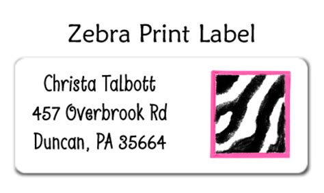 printing address labels at home zebra print address label by amy adele