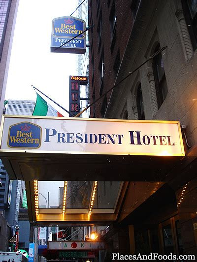 best western president new york best western president hotel new york review places and