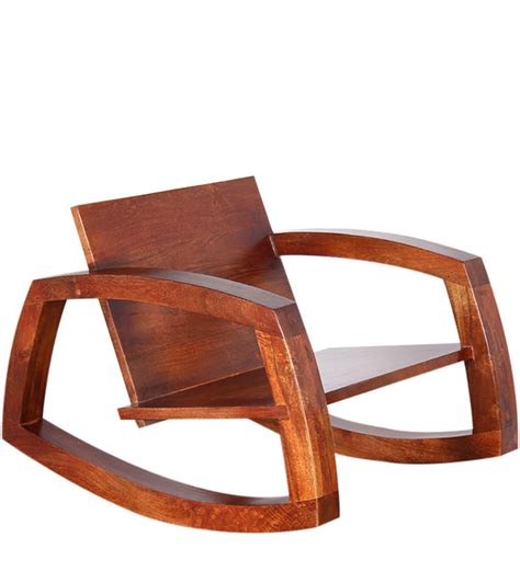 Unfinished Wood Rocking Chair by Ellenborough Solid Wood Rocking Chair In Colonial Maple
