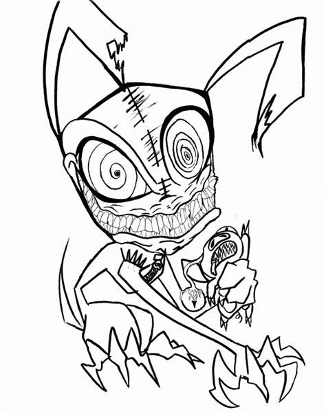 Scary Printable Pictures scary coloring pages best coloring pages for