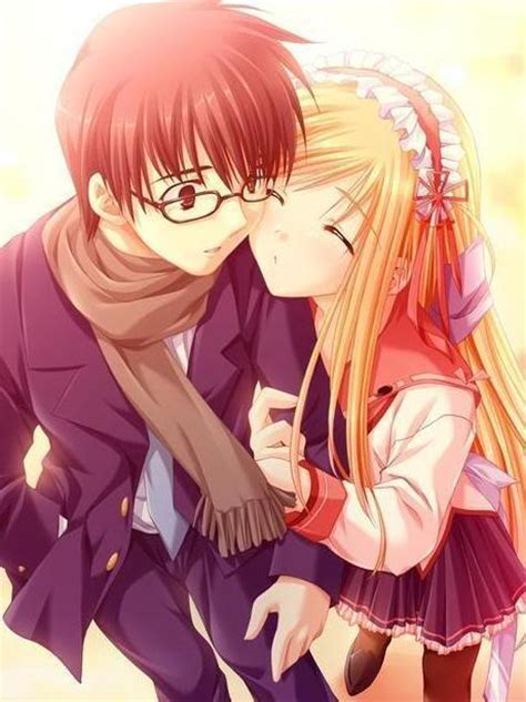 Anime Couple Love Pics Seeking For Attention Anime Couple And Quotes
