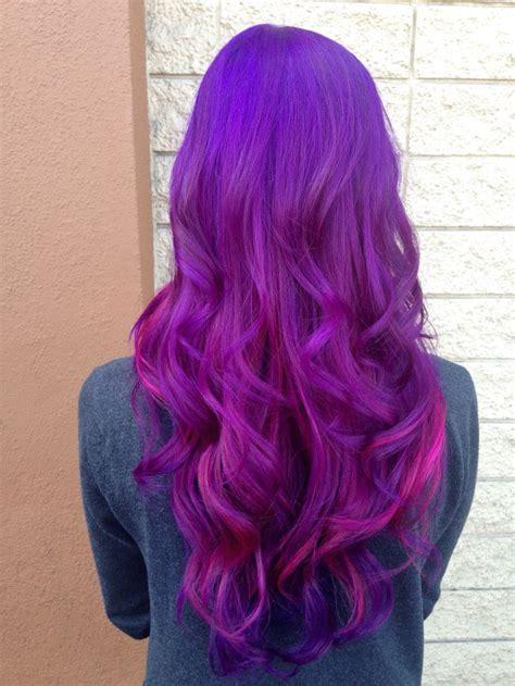 Orchid Hair Clip Sky Blue pravana violet and orchid hair colors