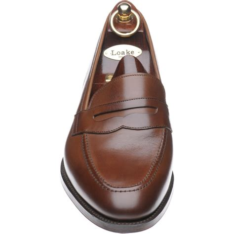 loake loafer loake shoes loake sale whitehall loafer in brown