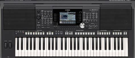 yamaha psr series psrs950 61 key portable keyboard
