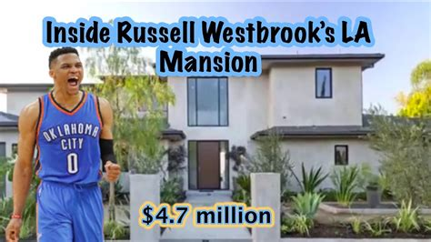 russell westbrook house russell westbrook s house in los angeles tour this nba player home youtube