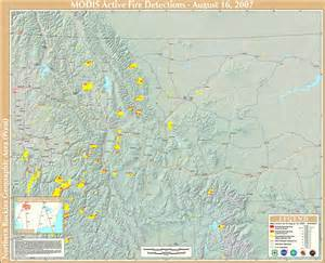 Montana Fire Map by Thunderstorms Expected To Whip Up Montana Fires Thursday