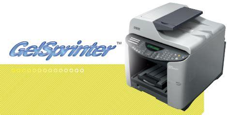 Printer Ada Fotocopy gelsprinter gx 3000s gx 3000sf gx 3000sfn printer liquid gel dari ricoh dunia fotocopy
