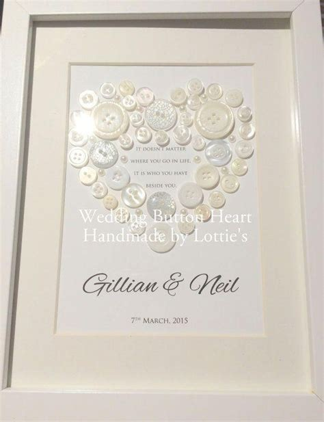 Unique Handmade Wedding Gifts - simple personalised wedding gifts for and groom 25