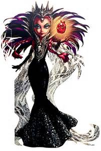 monster evil raven queen sdcc profile art