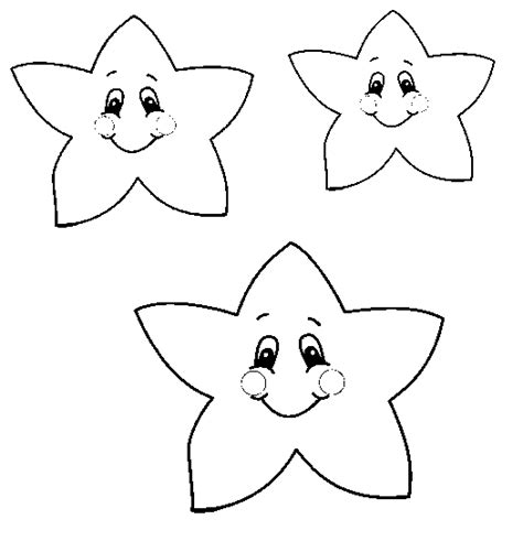 coloring pages of a small star coloring pages of small stars in the sky high