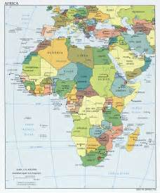 Countries Of Africa Map by Africa Maps Perry Casta 241 Eda Map Collection Ut Library