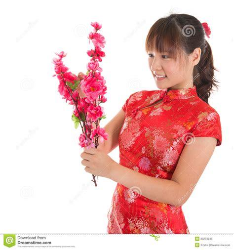 new year qipao cheongsam decorate stock photos image 33274943
