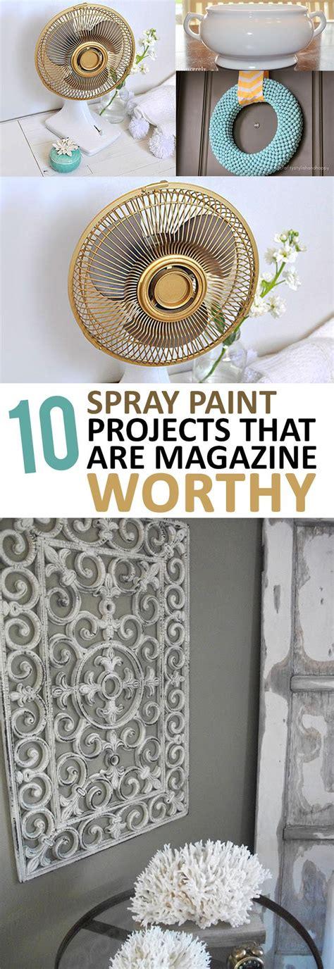 home decor tutorials amazing diy home decor projects using spray paint