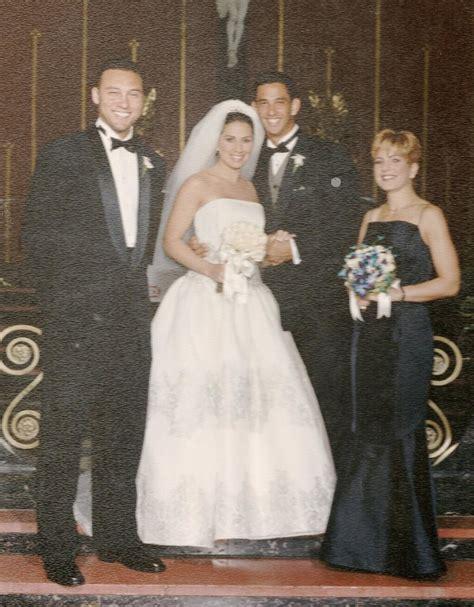 Derek Jeter Best man at Jorge Posada's wedding   Now