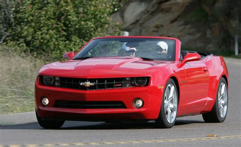 camaro  camaro convertible review  pictures