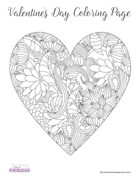coloring pages for adults valentines free valentine s day coloring pages for grown ups adult