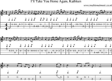 mandolin tab and sheet for song i ll take you home
