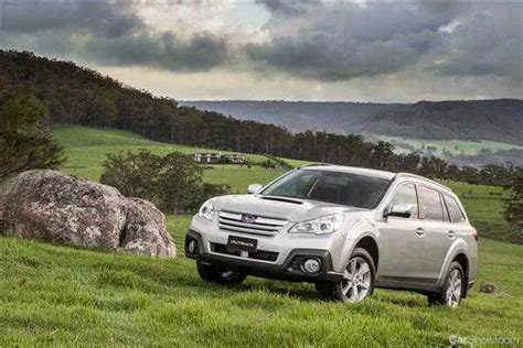 review  subaru outback diesel auto review   drive
