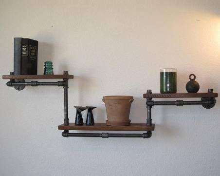 scaffali tubolari arredamento stile industriale industrial style style