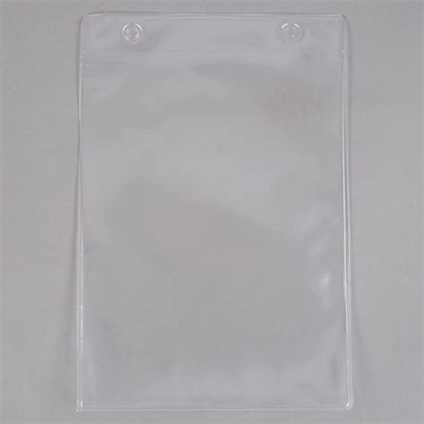 menu solutions topbpp clear  hole page protectors  top