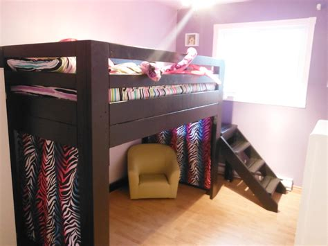 monster high bunk bed monster high bunk bed ana white loft bed black with