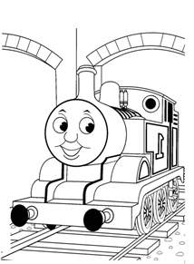 thomas train coloring az coloring pages