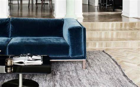 velluto per divani divani velluto moderno il miglior design di ispirazione