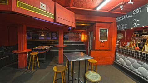 beleuchtung partykeller roter salon disco die pumpe