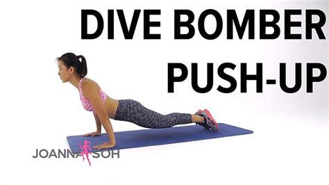 dive bomber push up dive bomber push up