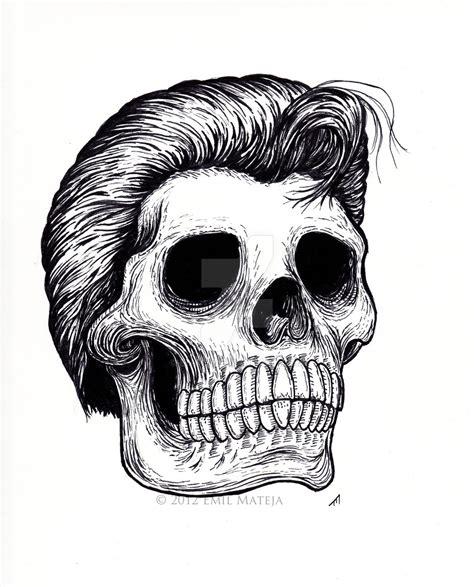 Pomade Skul greaser skull by em613 on deviantart
