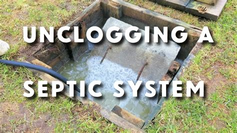video   restored  septic system