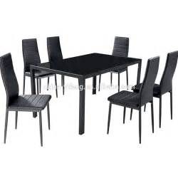 modern glass dining table set in dining room sets buy