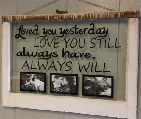 frames with vinyl family sayings vintage window single pane picture frames personalized